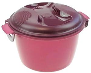 tupperware tupper i56 cuiseur riz pour micro ondes violet 2 2 l cuisine maison. Black Bedroom Furniture Sets. Home Design Ideas