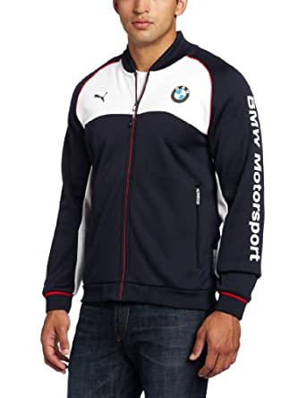PUMA Men's BMW Bonded Jacket, BMW Team Blue, X-Large