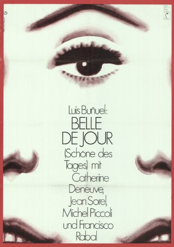 Belle de Jour - Movie Poster - 11 x 17
