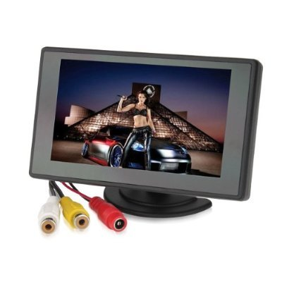 Loftek 4.3 Inch TFT LCD Screen Adjustable Monitor For Security CCTV Camera And Car DVR