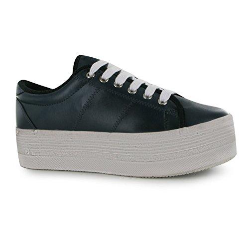 Jeffrey Campbell Play piattaforma scarpe da donna blu/bianco scarpe da ginnastica Sneakers, blu/bianco