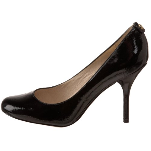 michael michael kors women s pressley pump black patent 6 m us apparel
