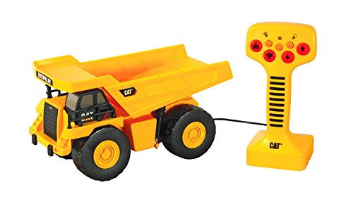 "Toy State Caterpillar 9"" Remote Control Dump Truck With Lights And Sounds"