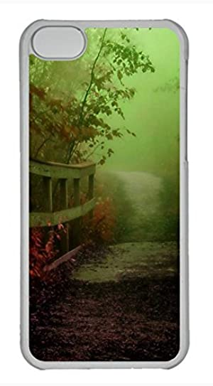 iPhone 5c case, Cute October Morning iPhone 5c Cover, iPhone 5c Cases, Hard Clear iPhone 5c Covers