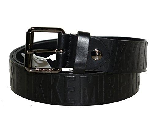 Bikkembergs Cintura uomo in pelle taglia S