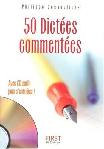 50 Dictées commentées (1CD audio)