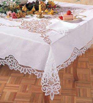 Embroidery Battenberg Lace Tablecloth & Napkin Sets 72