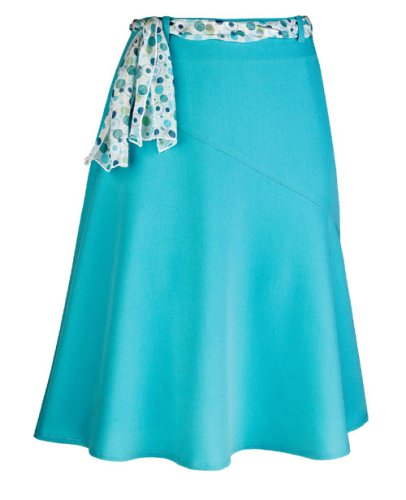 Turquoise A-Line Skirt - Buy Turquoise A-Line Skirt - Purchase Turquoise A-Line Skirt (J. Marco, J. Marco Skirts, J. Marco Womens Skirts, Apparel, Departments, Women, Skirts, Womens Skirts)