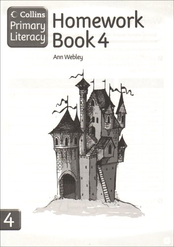 Collins Primary Literacy - Homework Book 4: Homework Book Bk. 4