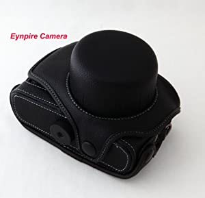 Eynpire Camera Leather Case for Olympus E-PL1 E-PL 1 EPL E-P1 E-P2 Camera