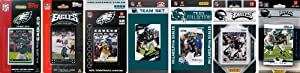 NFL Philadelphia Eagles 7 Different Licensed Trading Card Team Sets by C&I Collectables