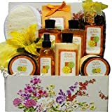 Citrus Sensations Spa Bath and Body Care Package Gift Basket