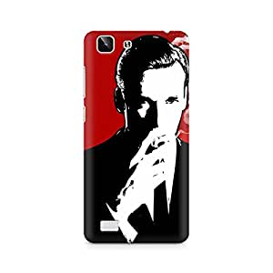 Ebby Suit and Cig Premium Printed Case For Vivo X5