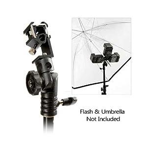 Lastolite LL LA2412 TriFlash Three Pocket Flash Tilt-Head Shoe mount