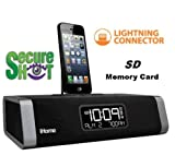 Spysonic Lightening Ihome Player Hidden Camera with Built-In DVR Digital Video Recorder - Color High Resolution