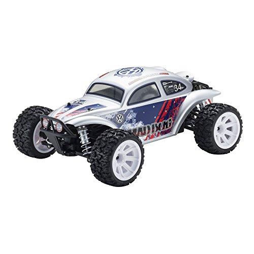 1/10 EP 4WDレーシングバギー マッドバグVEi カラータイプT3:シルバー 34354T3