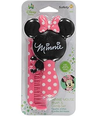 """Minnie Mouse """"Minnie Salon"""" Brush & Comb Set"""