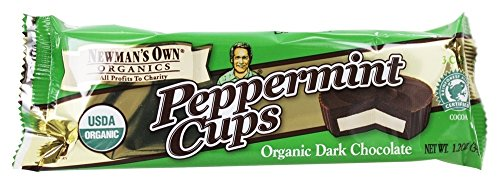 Newman's Own Organics - Peppermint Cups Dark Chocolate - 3 Cup(s) (PACK OF 3)