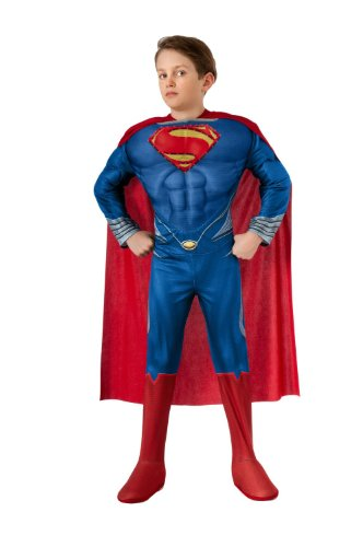 Superman, Man of Steel, Deluxe Kids Costume