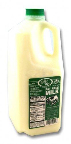 Golden Flow - Cholov Yisroel Fat Free Milk (64 oz.) - 4 Pack