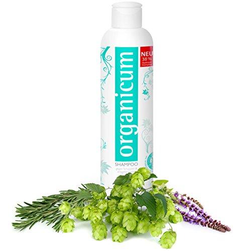 organicum shampoo vegane haarpflege mit wildkr utern gegen haarausfall und schuppen ohne. Black Bedroom Furniture Sets. Home Design Ideas