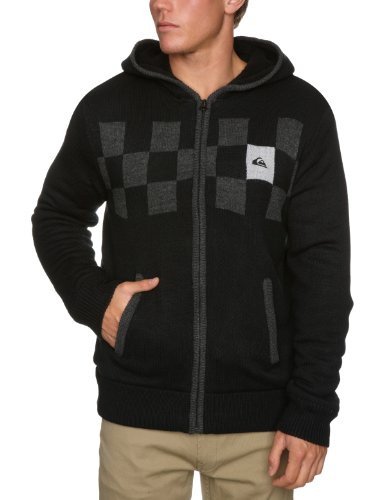 Quiksilver Glaciar Jak Mens Sweatshirt Black Small