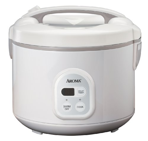 Review Of Aroma ARC-838TC 8-Cup (Uncooked), 16-Cup (Cooked) Digital Rice Cooker and Food Steamer, Wh...