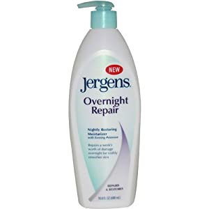 Overnight Repair Nightly Restoring Moisturizer by Jergens, 16.8 Ounce