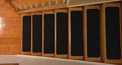 Wooden Stair Treads Indoor Skid Resistant Non Slip Carpet