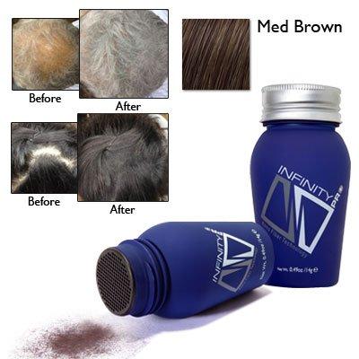 Infinity Hair Loss Concealing Fibers, Medium