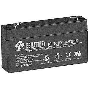 B.B. Battery 6V 1.2Ah Battery T1 Terminal, BP1.2-6-T1 (Mini Kota 35 compare prices)