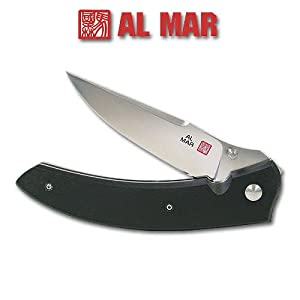 Al Mar Shrike Stainless Steel Folding Knife by Al Mar