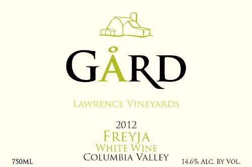 """2012 Gard Vintners """"Freyja"""" Viognier & Roussanne White Blend 750 Ml"""