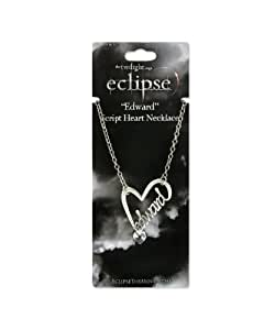 Twilight Eclipse collier Edward Coeur de Script (Script Heart)