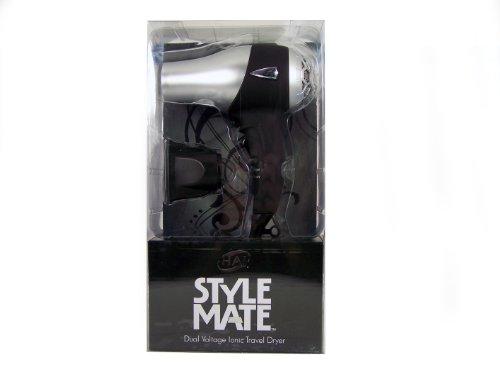 Hai Stylemate Mini Travel Hair Dryer - Black, 1.5-Pound front-224059