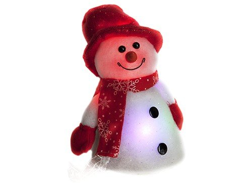 9-snowman-with-red-hat-6-led-lights-christmas-decoration-ornament