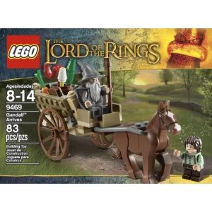 Toy / Game Unique Lego The Lord Of The Rings Hobbit Gandalf Arrives (9469) - Horse Cart, Carrot & Barrel