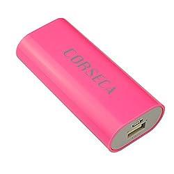 Corseca DMB3754 Power Bank 2600 mAh - Pink