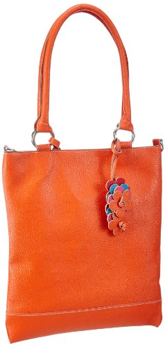 Rieker Kinder Rieker Teens Tasche Girls handbag Girls Orange Orange (aperol 38) Size: 31x35x1 cm (B x H x T)