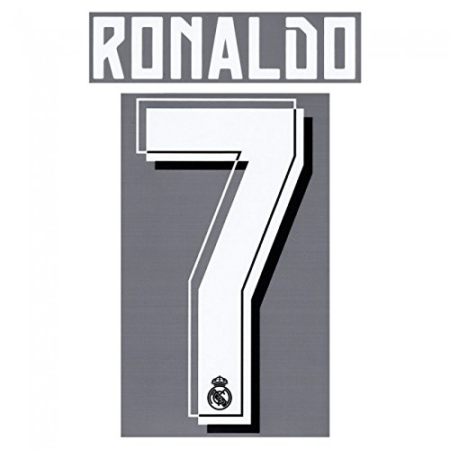 RONALDO #7 Real Madrid Away 2015-2016 Soccer Jersey Shirt Print Name/Number Set Youth / Junior Size (Cristiano Ronaldo Print Number compare prices)