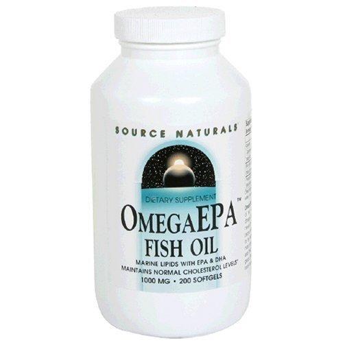 Source Naturals Omega EPA Fish Oil 1000mg, 200 Softgels