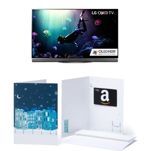 LG-Electronics-OLED55E6P-Flat-55-Inch-4K-OLED-TV-and-150-Gift-Card