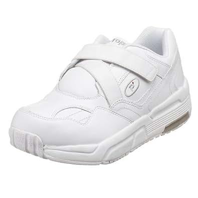 Propet Men's MPED25 Pedwalker 25 Walking Shoe,White Smooth,8 D (M)