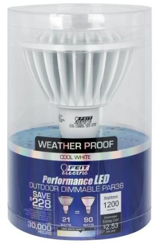 Feit Bulb Par 21 W 1200 Lumens Clear Clear Medium Base (E26) 4000 K