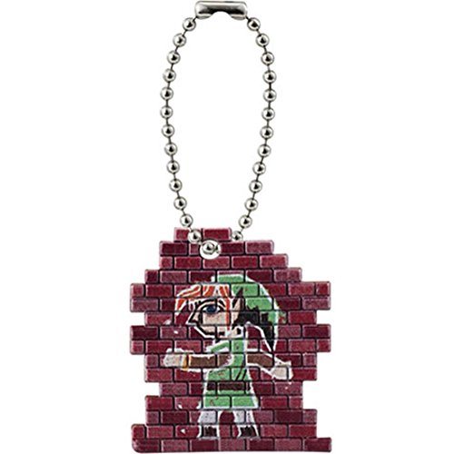The Legend of Zelda A link Between Worlds Mascot Swing Keychain Figure - Link Mural - 1