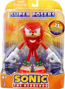 Picture of Zoofy International Sonic The Hedgehog 6 Inch Super Poser Articulation Figure Knuckles (B005EN37BM) (Zoofy International Action Figures)