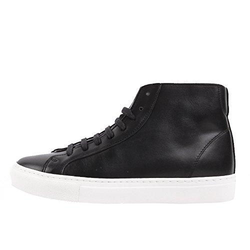 rockamora-louis-chaussures-en-cuir-high-w-noir-blanc-41