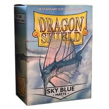 Dragon Shield Sleeves Matte Sky Card Game, Blue (Mtg Blue Dragons compare prices)