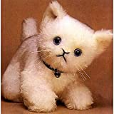 Minicraft Sewing Kit White Kitten
