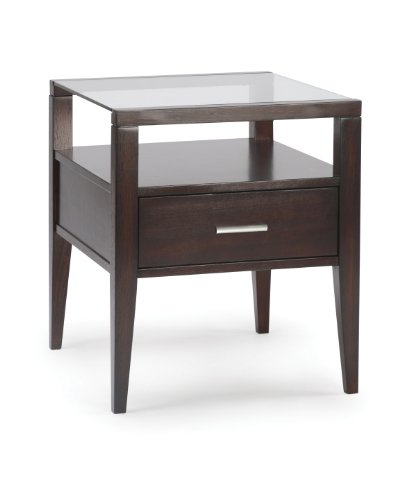 Image of Magnussen Baker Wood Rectangular End Table (T1393-03)